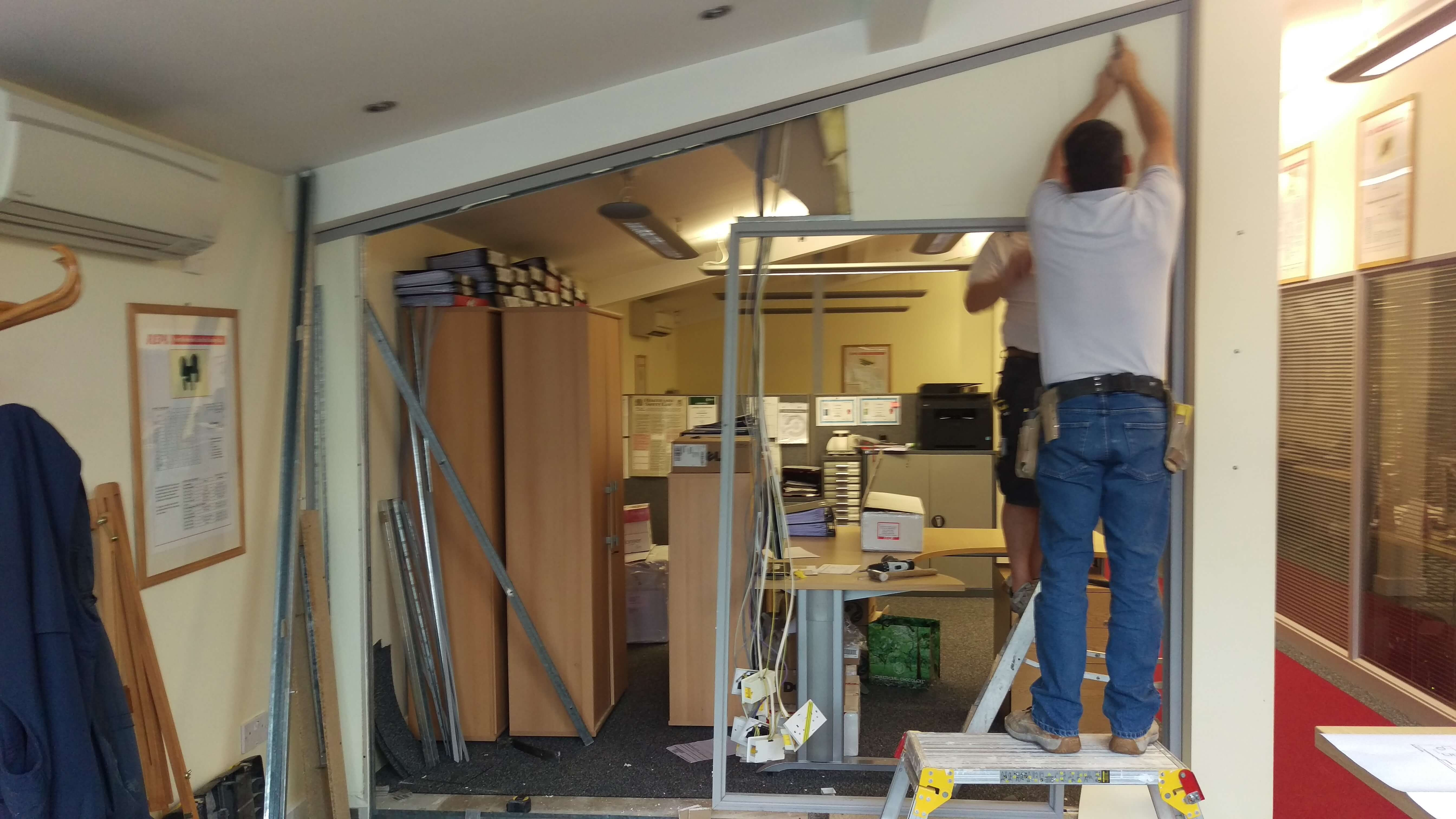 Office Partitioning in Swindon for REPL