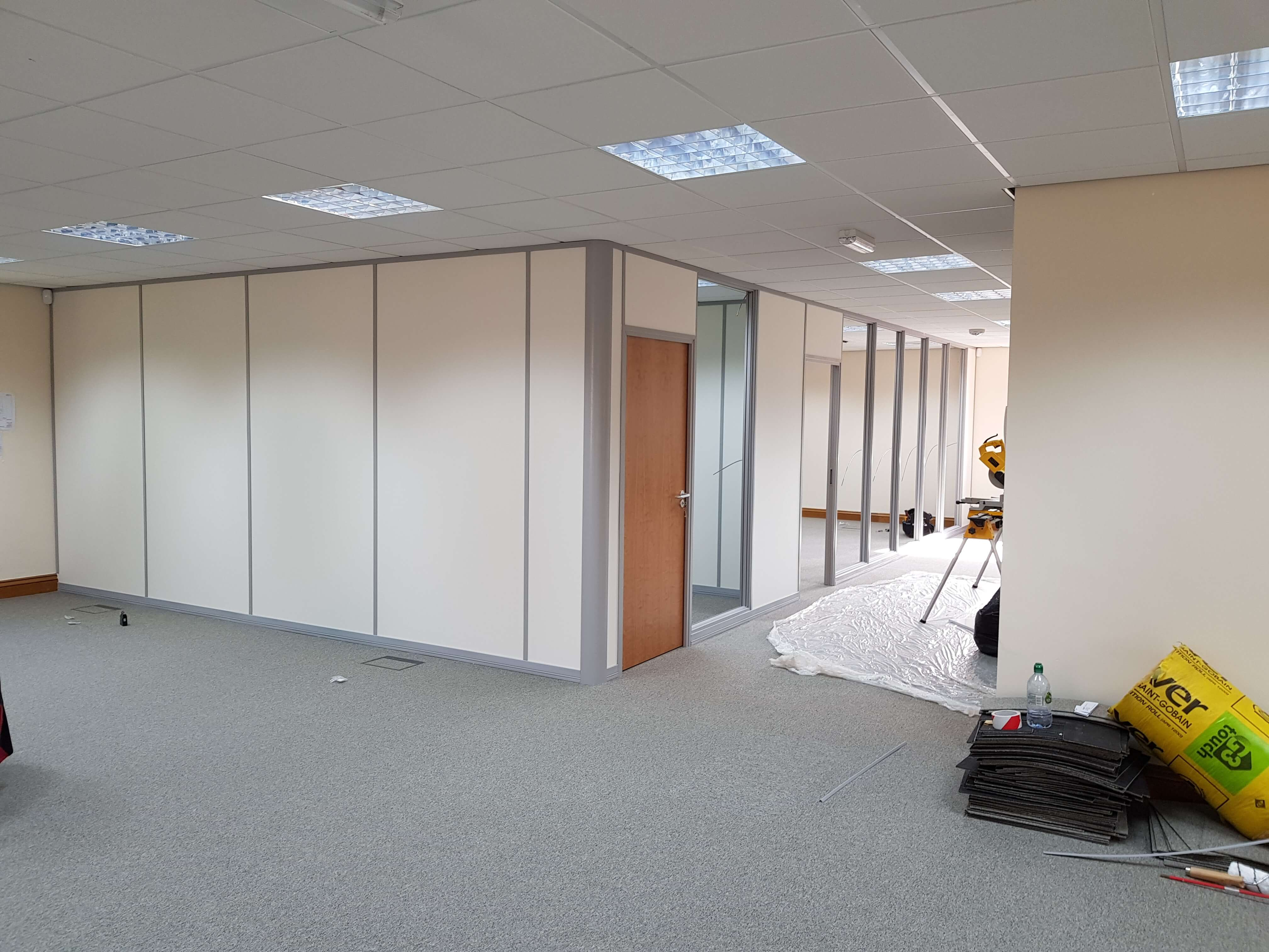 Offices nearly complete