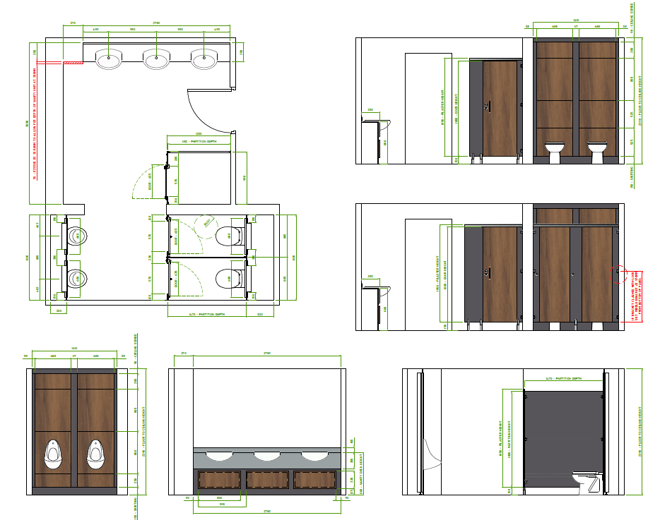 Toilet Refurbishment plans